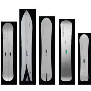 Snowboard Aluflex