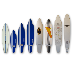 Skate Longboard Aluflex